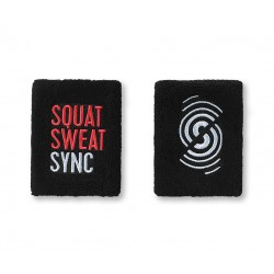 SQUAT SWEAT SYNC WRISTBANDS (2PK)