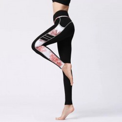 Legging side printing coral