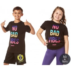 ZW JUNIORS NO BAD VIBES TEE